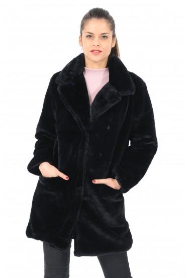 manteau en fausse...