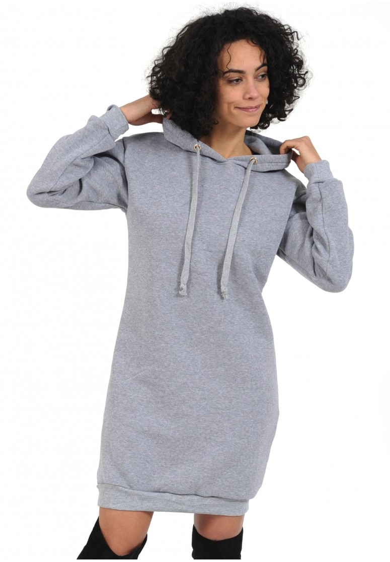 robe sweat gris