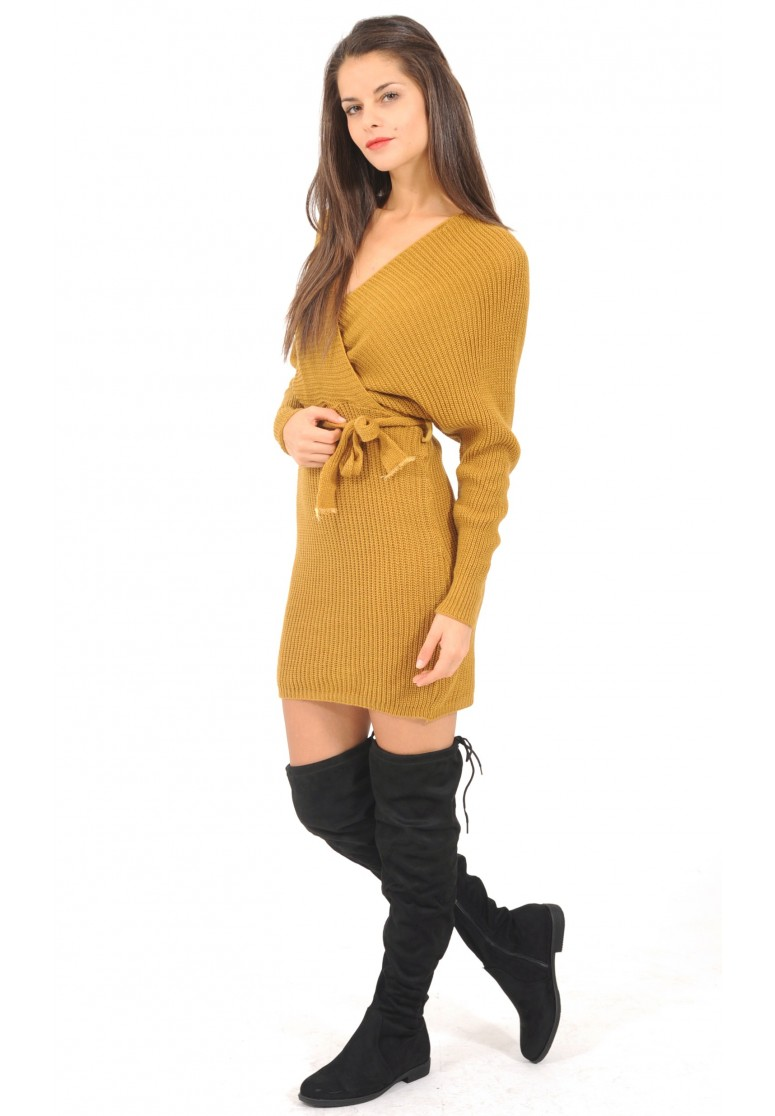 robe pull portefeuille