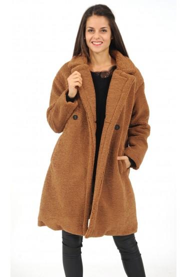 manteau long en...