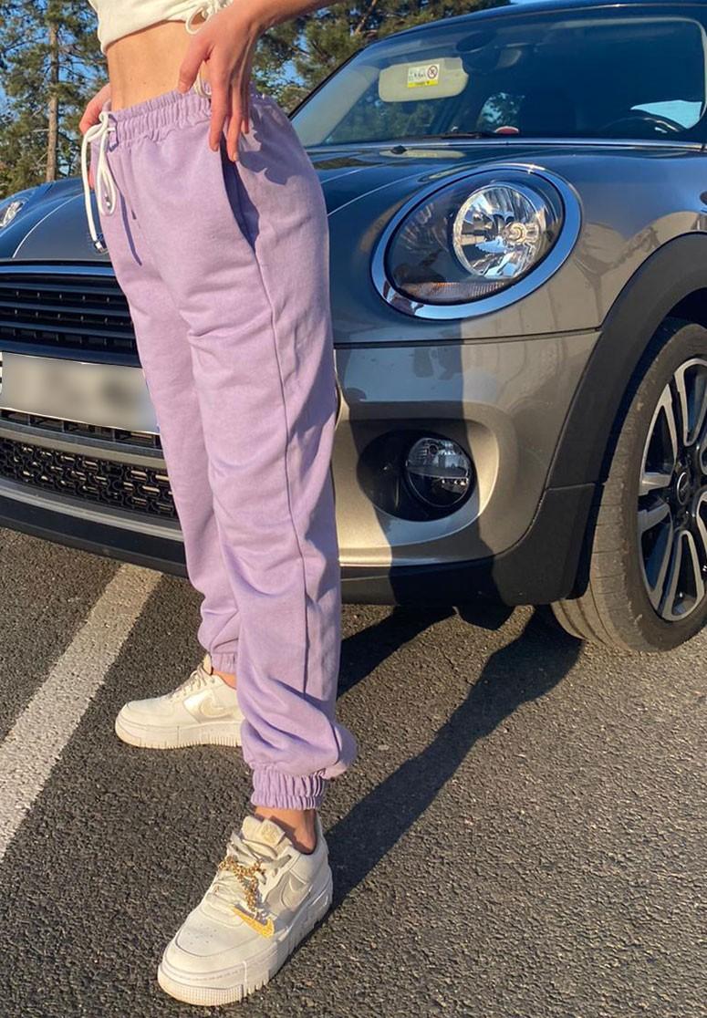 Pantalon de survêtement femme violet confortable