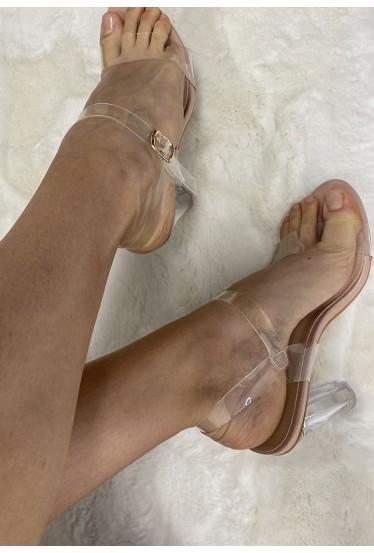 Sandales femme à talons...