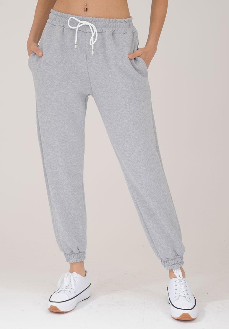 Pantalon de survêtement femme Gris confortable